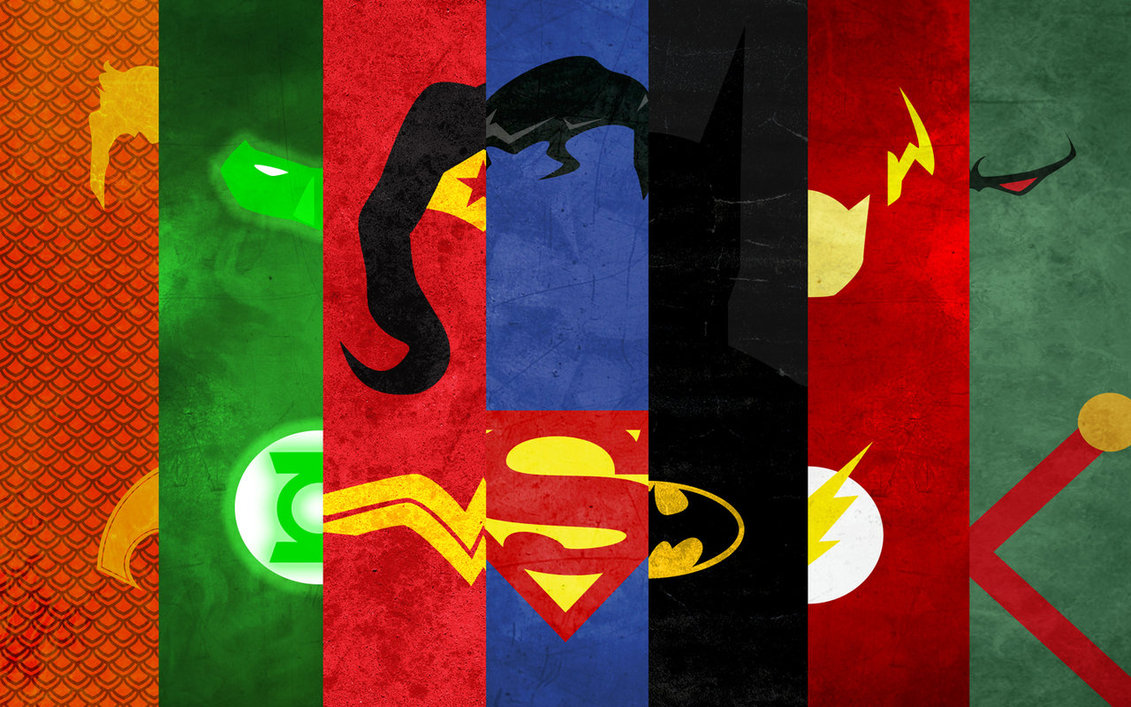 Wallpaper JusticeLeague by thelincdesign 1131x707