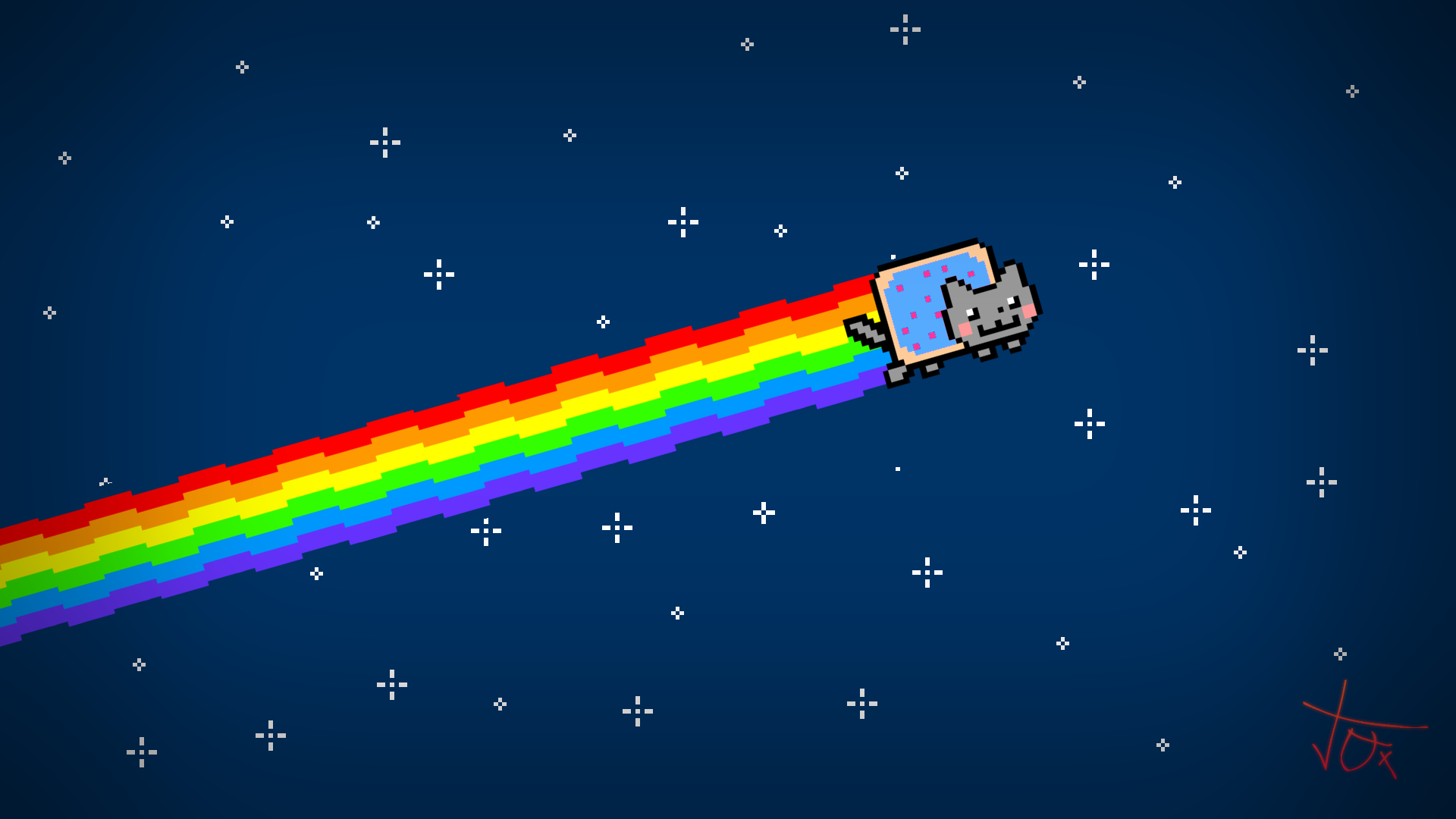 hd Wallpapers 1920x1080 Cat Blue Nyan Cat hd Wallpaper 1920x1080