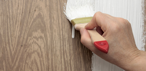 want to paint over the wallpaper in our bathroom What kind of primer 510x250