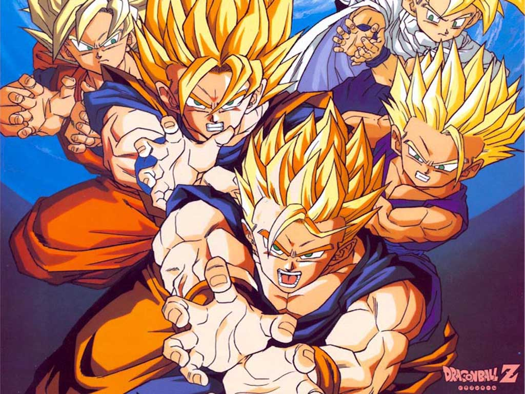 Top Cartoon Wallpapers Dragon Ball Cartoon Wallpapers 1024x768