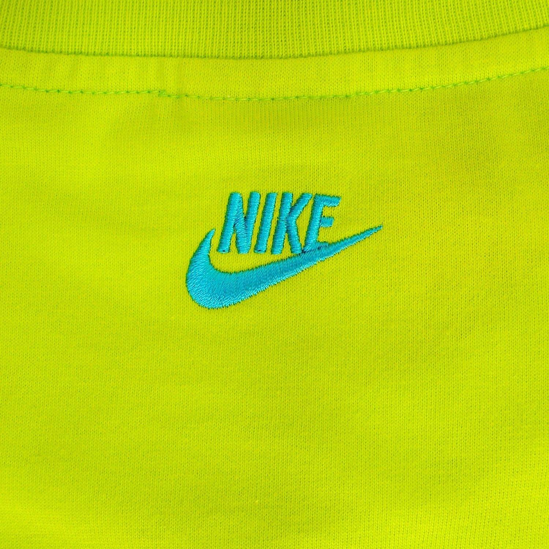 Nike Logo Tee Shirt Gruen Gelb Slime Lime Limette Swoosh 1500x1500
