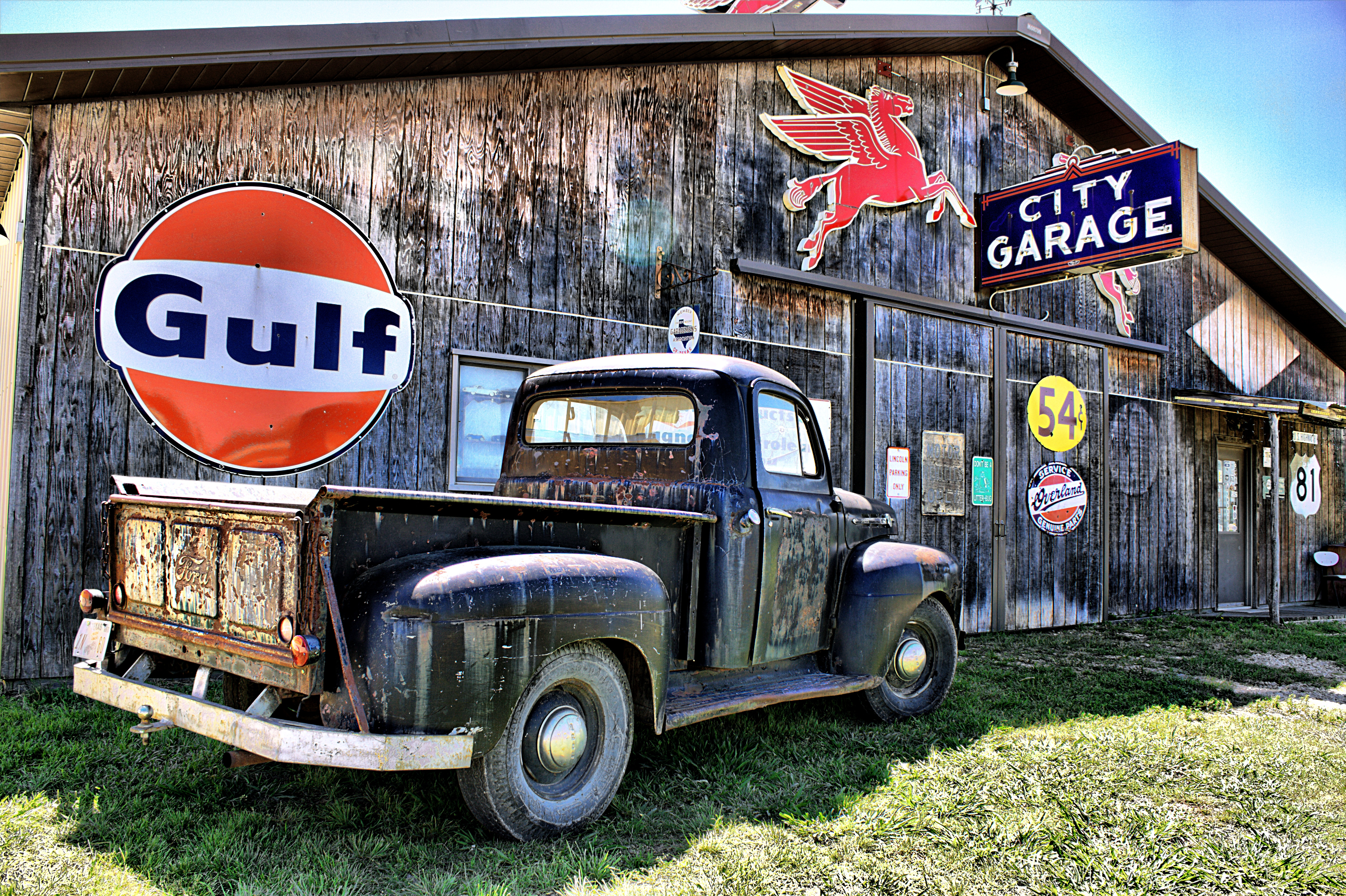 Old Ford Truck Backgrounds Old ford truck in salado tx 4770x3177