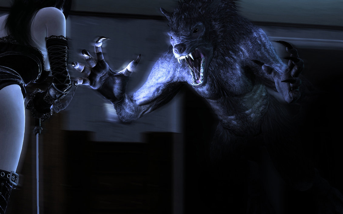 Vampire vs Werewolf Wallpaper - WallpaperSafari