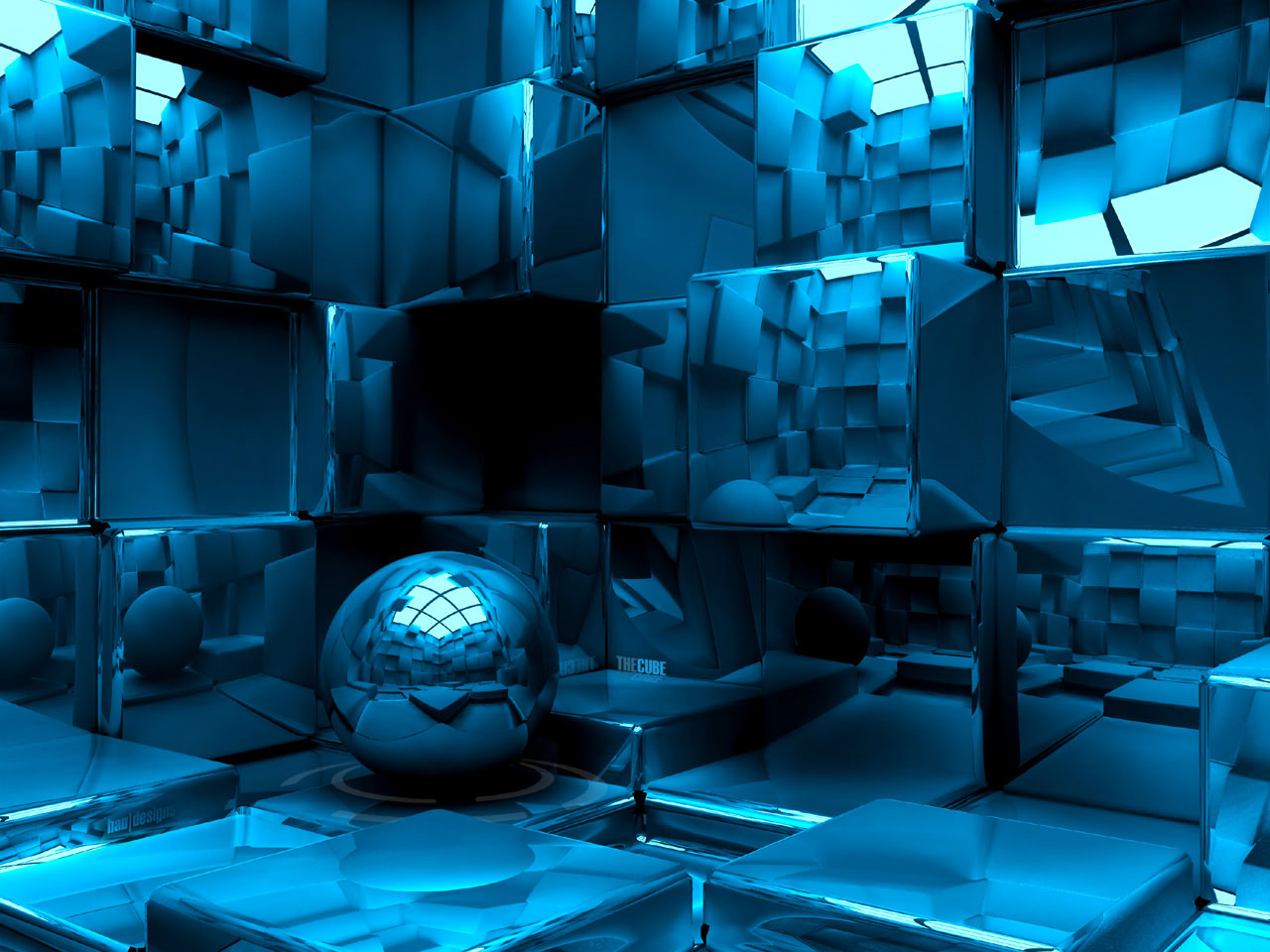 3D Mirror Cubes Exclusive HD Wallpapers 4433 1280x960