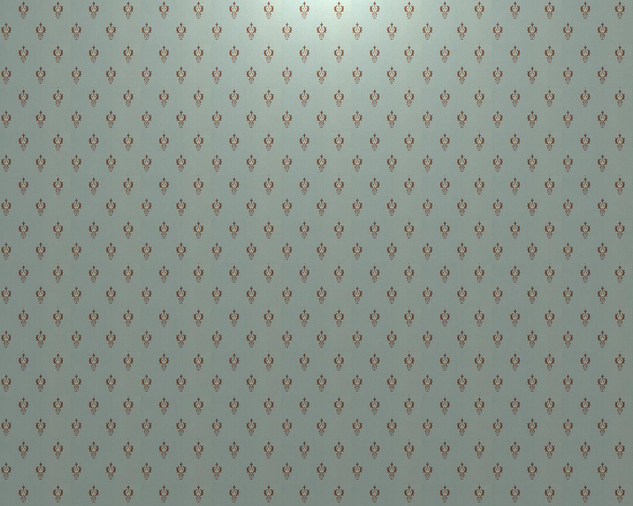 Victorian Pattern II Vert deau Light 1280x1024