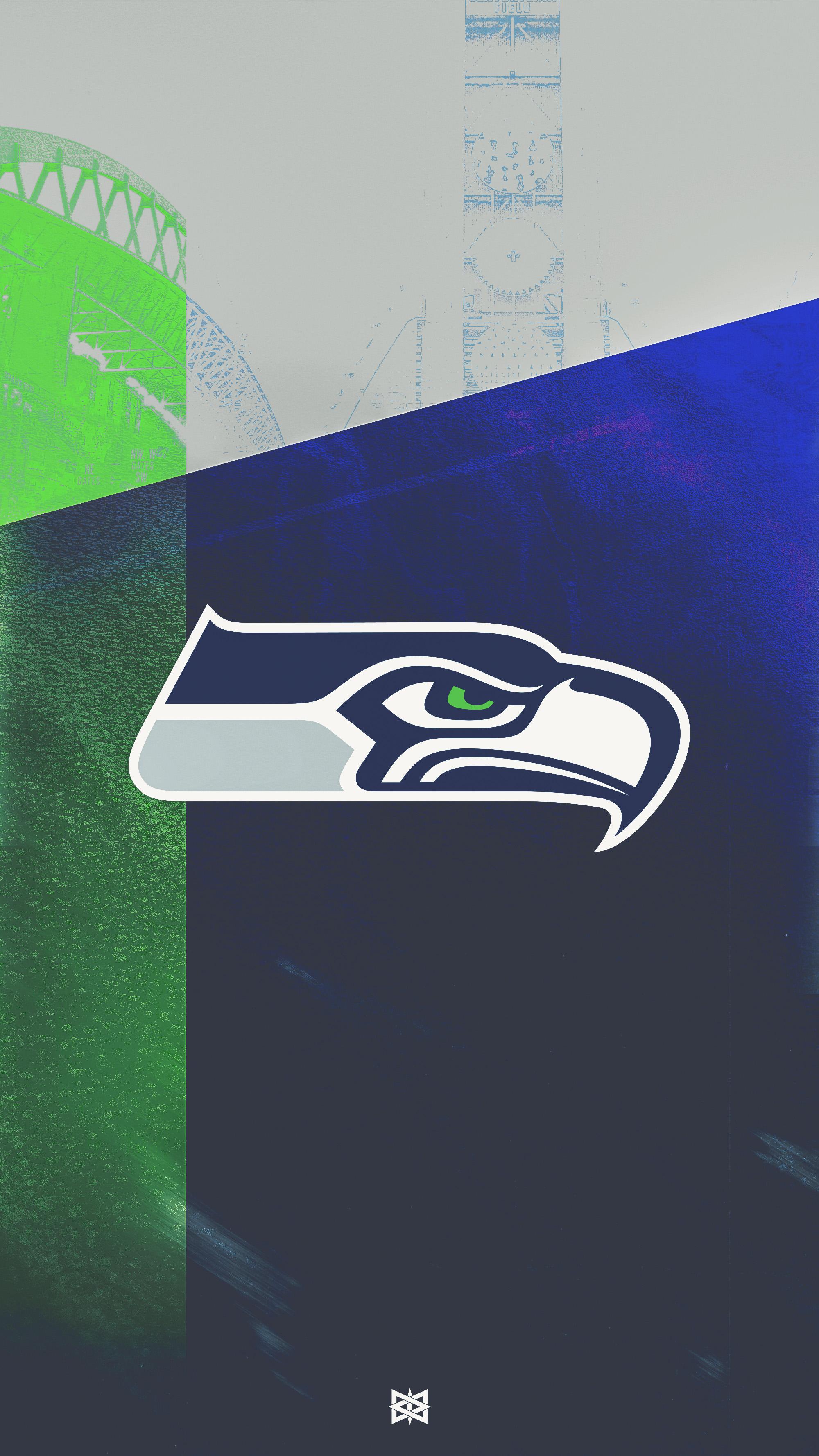 Seattle Seahawks Wallpaper by BenLueckDesigns 2000x3556