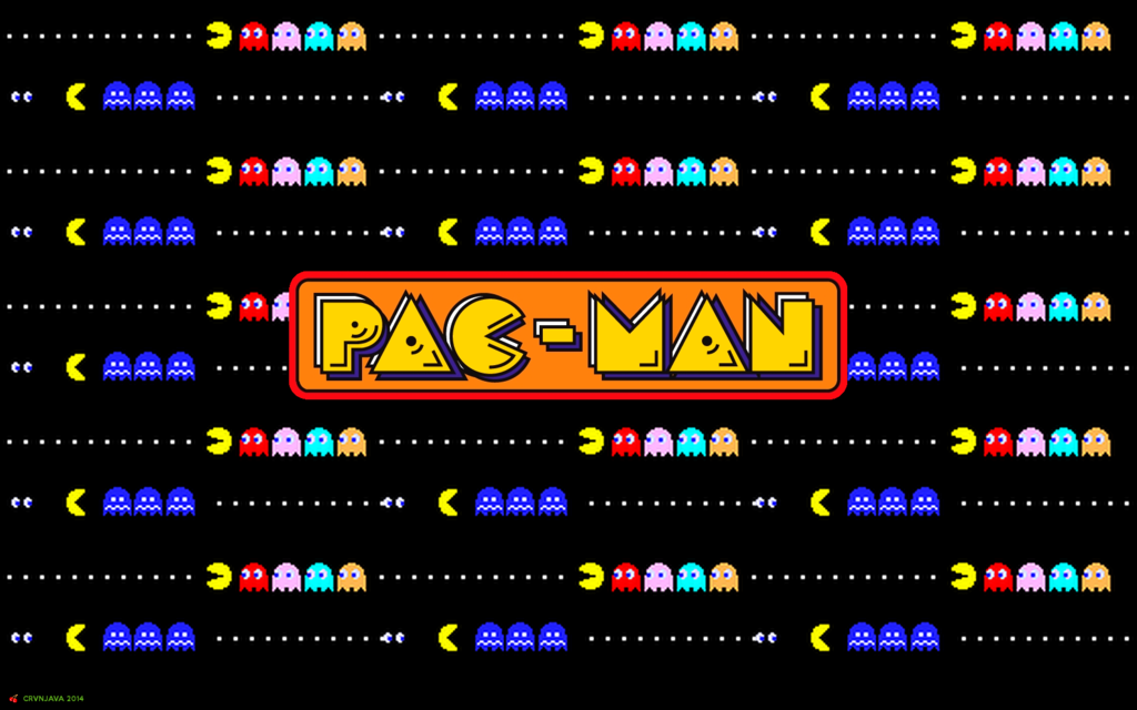 Pac Man Chase Wallpaper by crvnjava67 on deviantART 1024x640