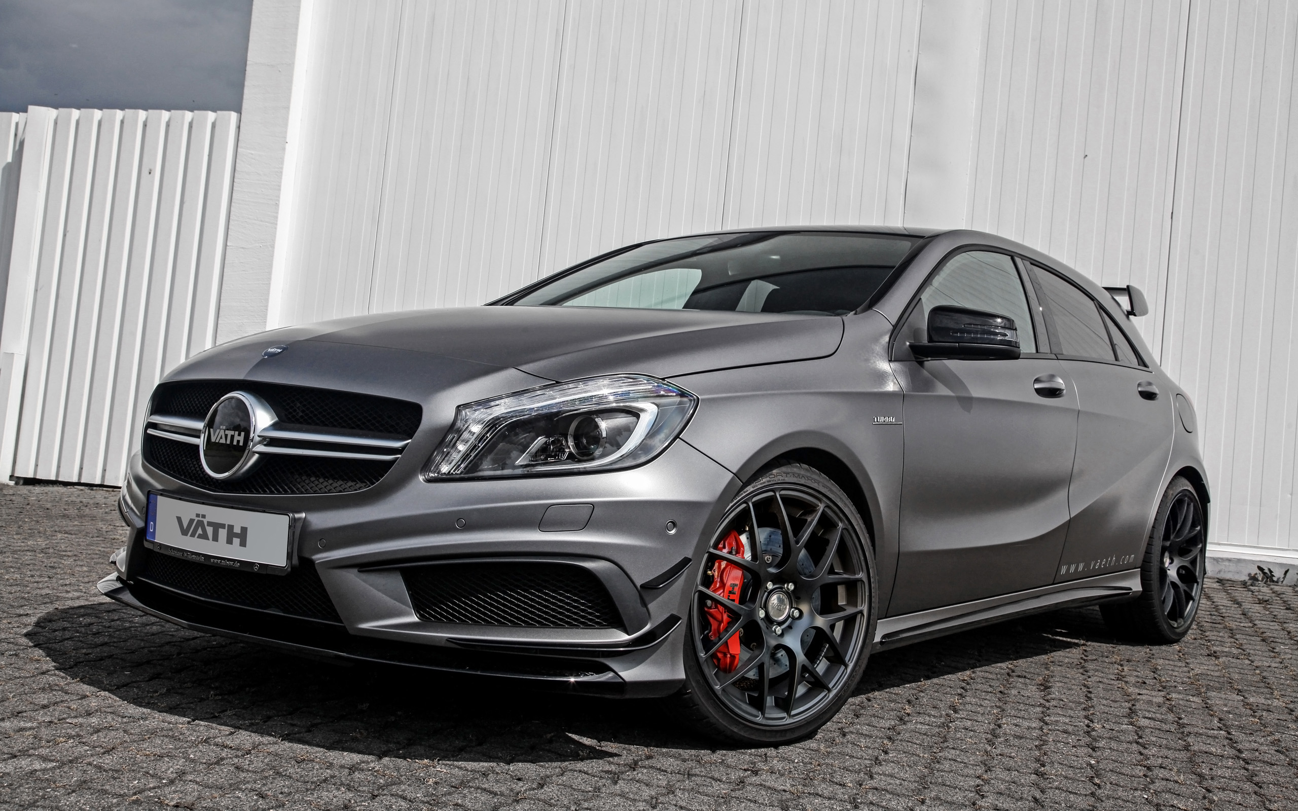 2014 Vaeth Mercedes Benz A45 AMG Wallpaper HD Car Wallpapers 2560x1600