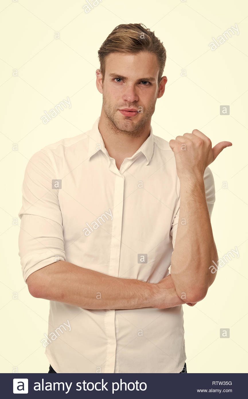 Try this model Man confident face ready to help white background 865x1390