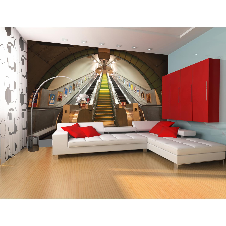 Giant Easy Hang Wallpaper Mural Wood Bricks Monuments Childrens Kids 1500x1500