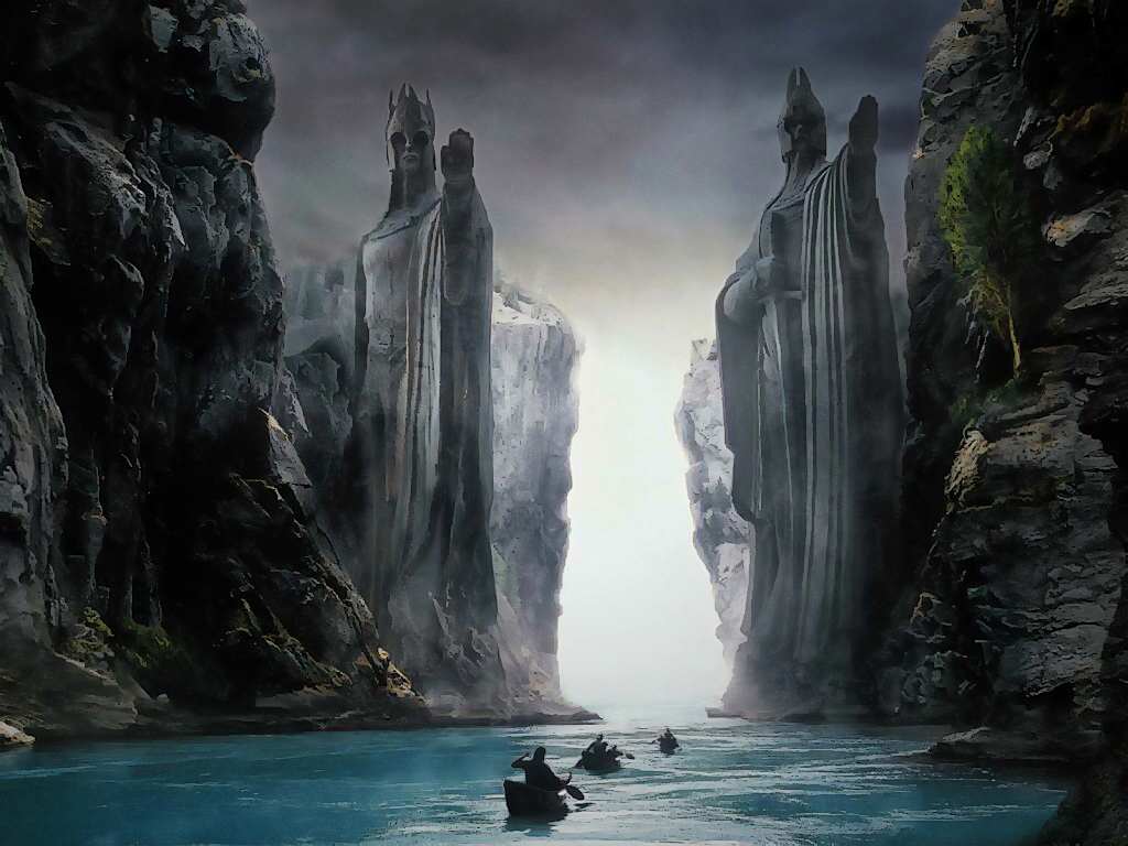 Lord Of the Rings wallpaper by JohnnySlowhand 1024x768