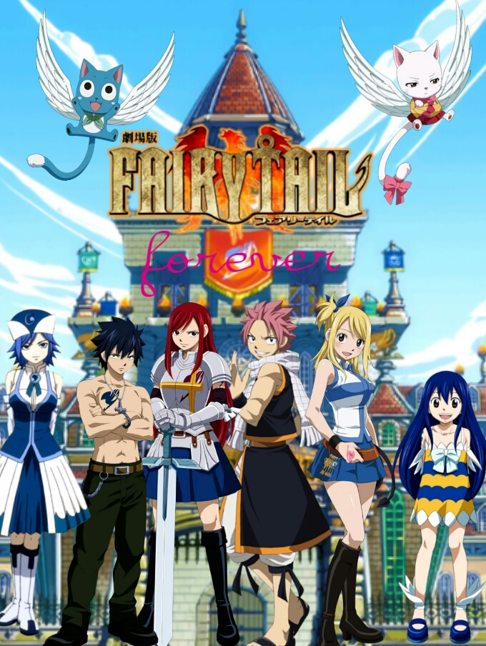 Fairy Tail Guild Wallpaper Hd Fairy Tail Group Wallp...
