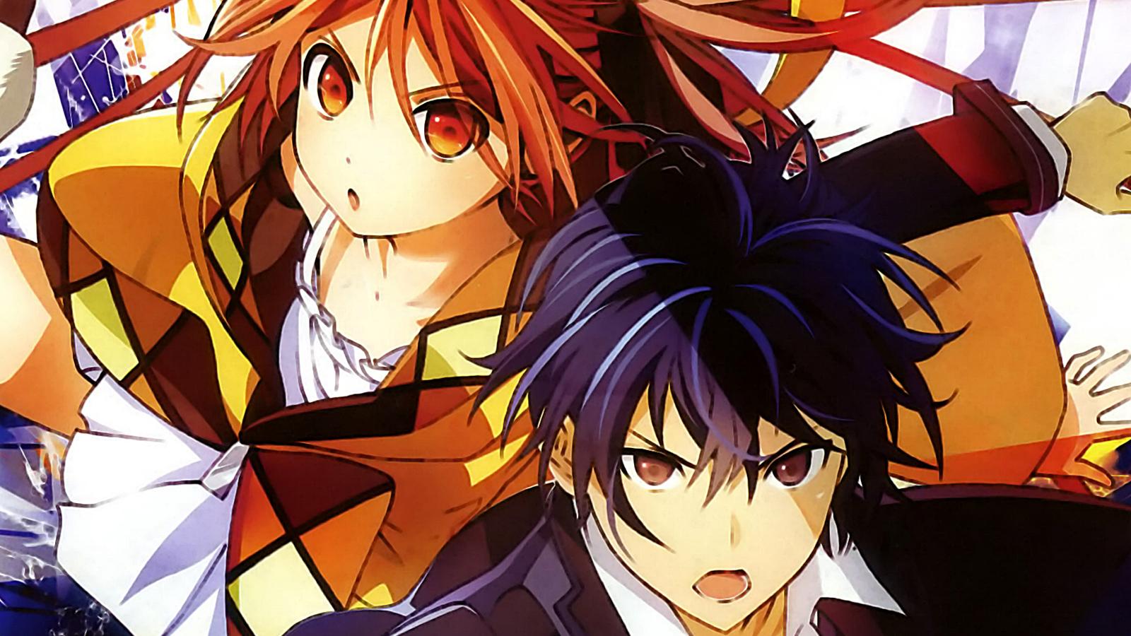 satomi and enju aihara black bullet anime spring 2014 hd wallpaper 1600x900