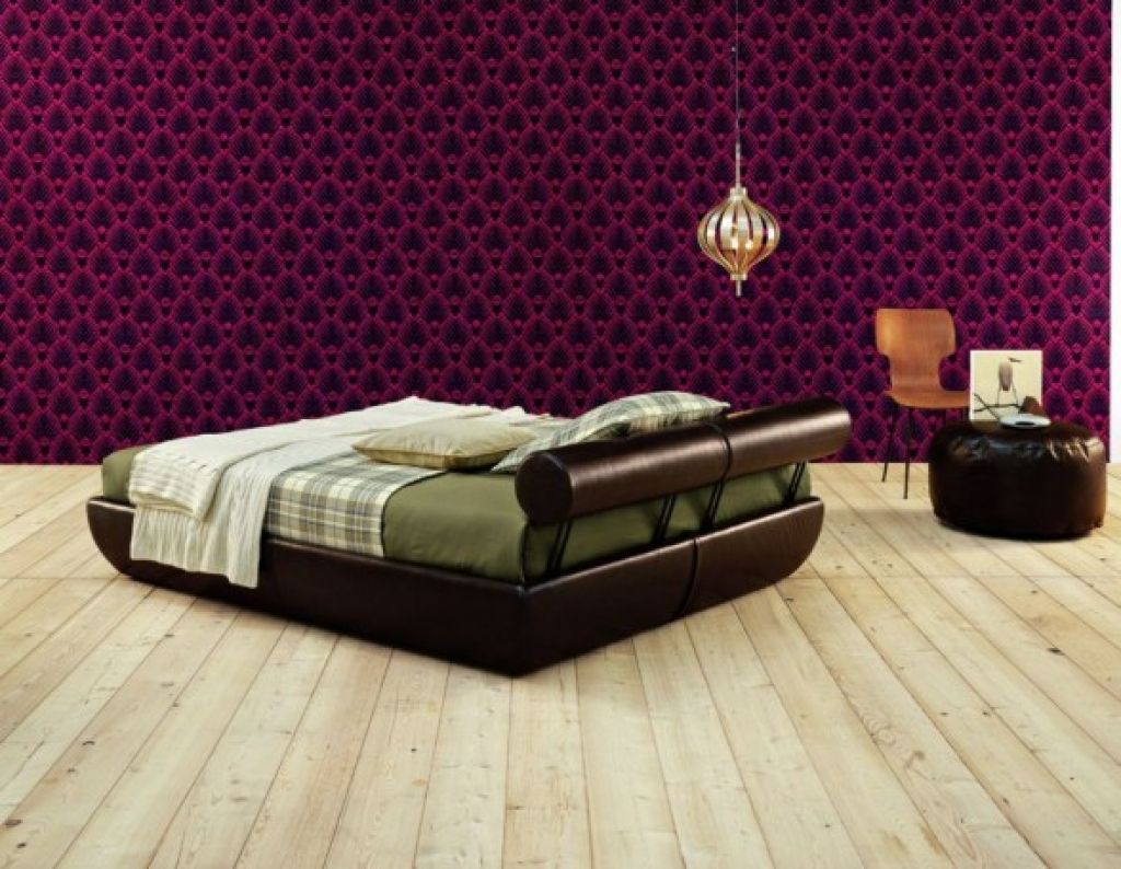 Wallpaper for furniture wallpapersafari - Ultra contemporary bedroom furniture ...