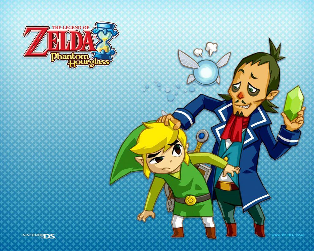 Fond dcran Zelda Phantom Hourglass gratuit fonds cran zelda 1024x819