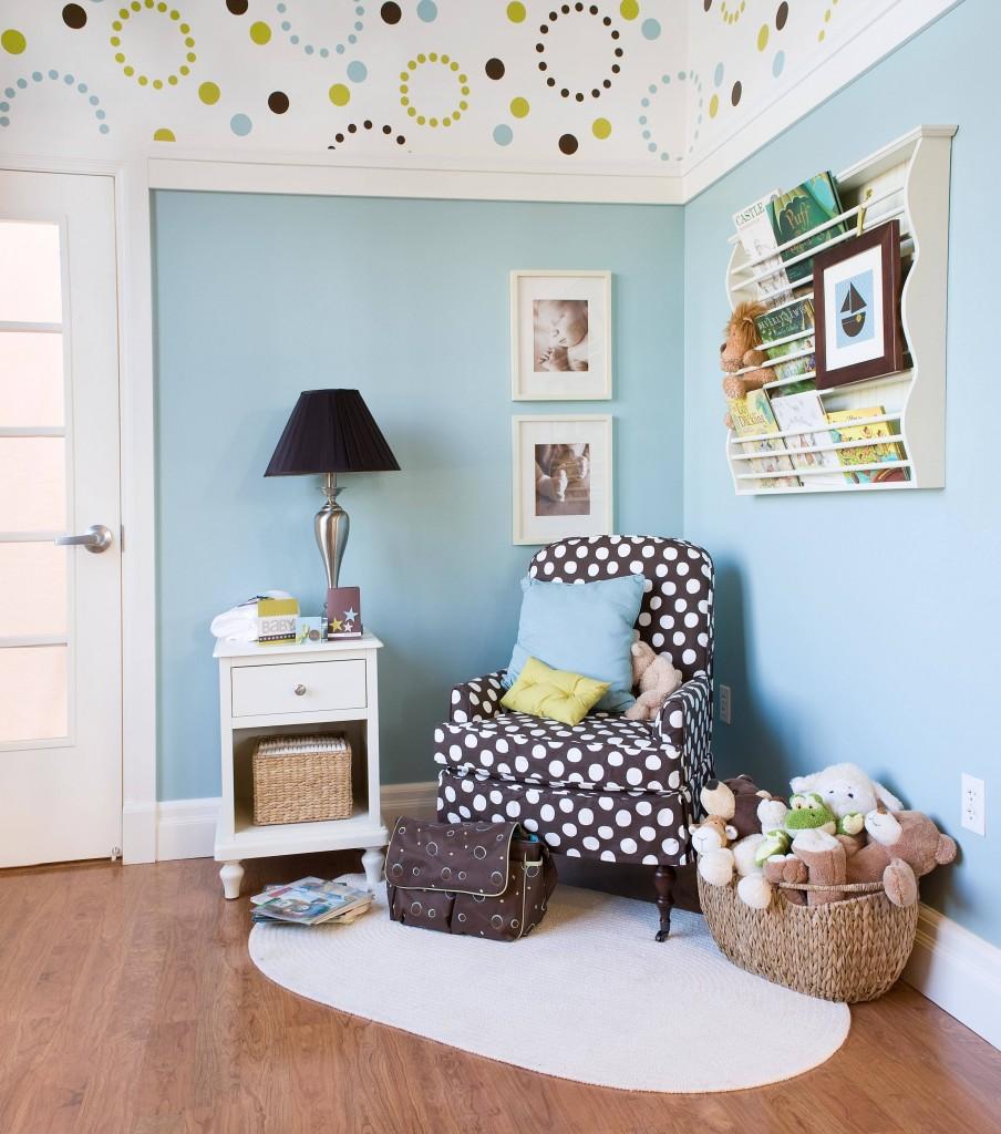 Baby Boy Room Decor Adorable Budget Friendly Boy Nursery: Nursery Wallpaper For Boys