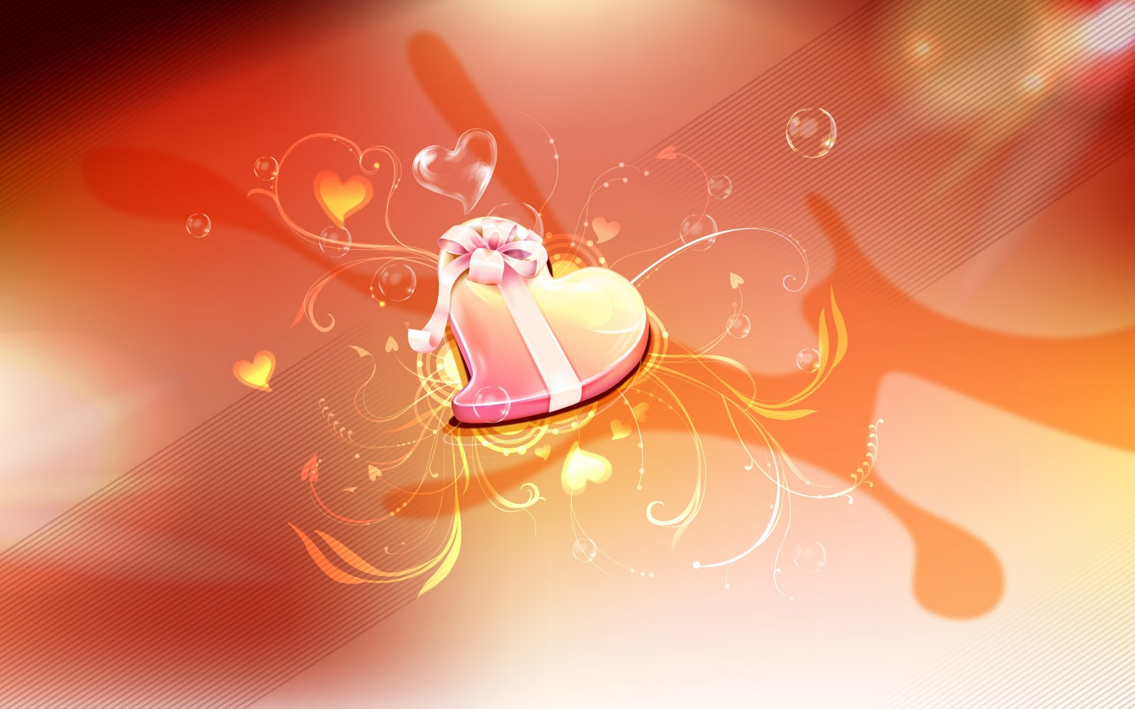 Life for SMS Happy valentines day backgrounds 2 1600x1000