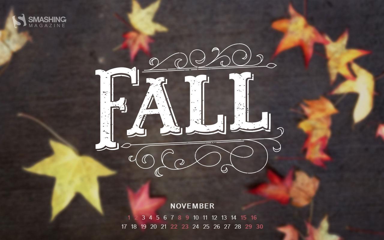 Desktop Wallpaper Calendars: November 2014 – Smashing Magazine