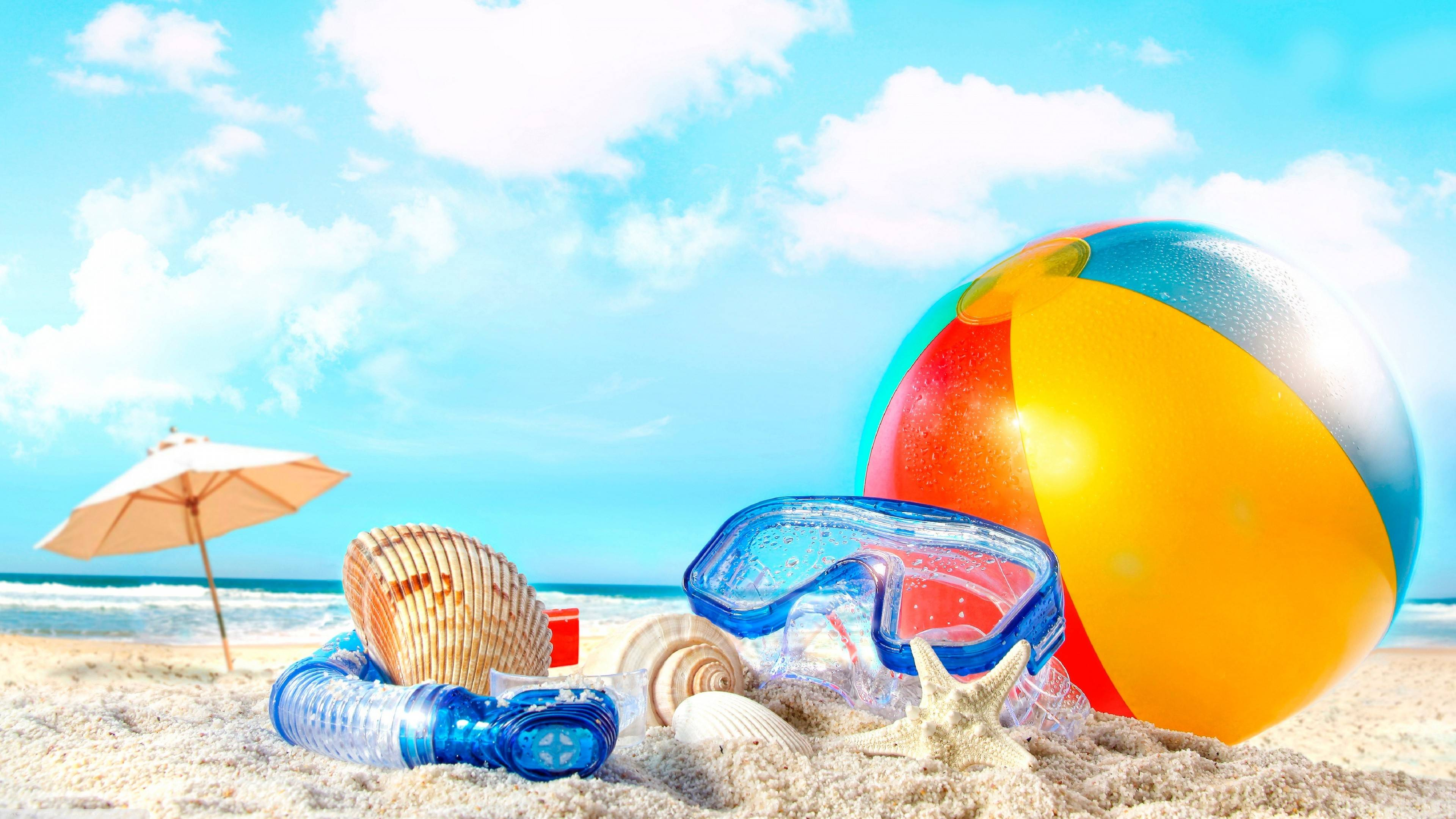 Summer Backgrounds 3840x2160