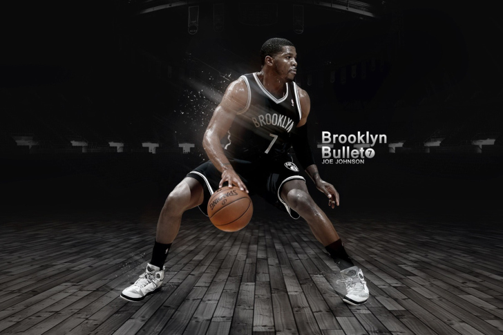 Joe Johnson from Brooklyn Nets NBA Wallpaper for Android 728x485