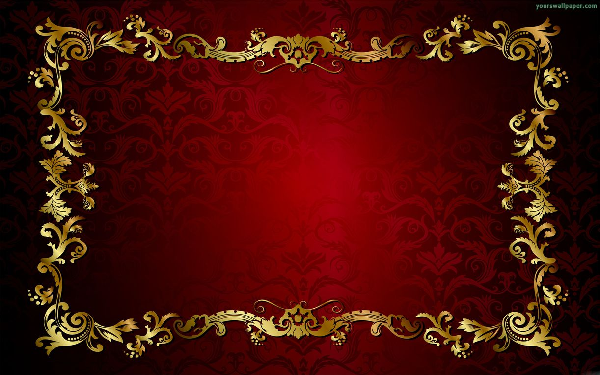 gold and red wallpaper wallpapersafari