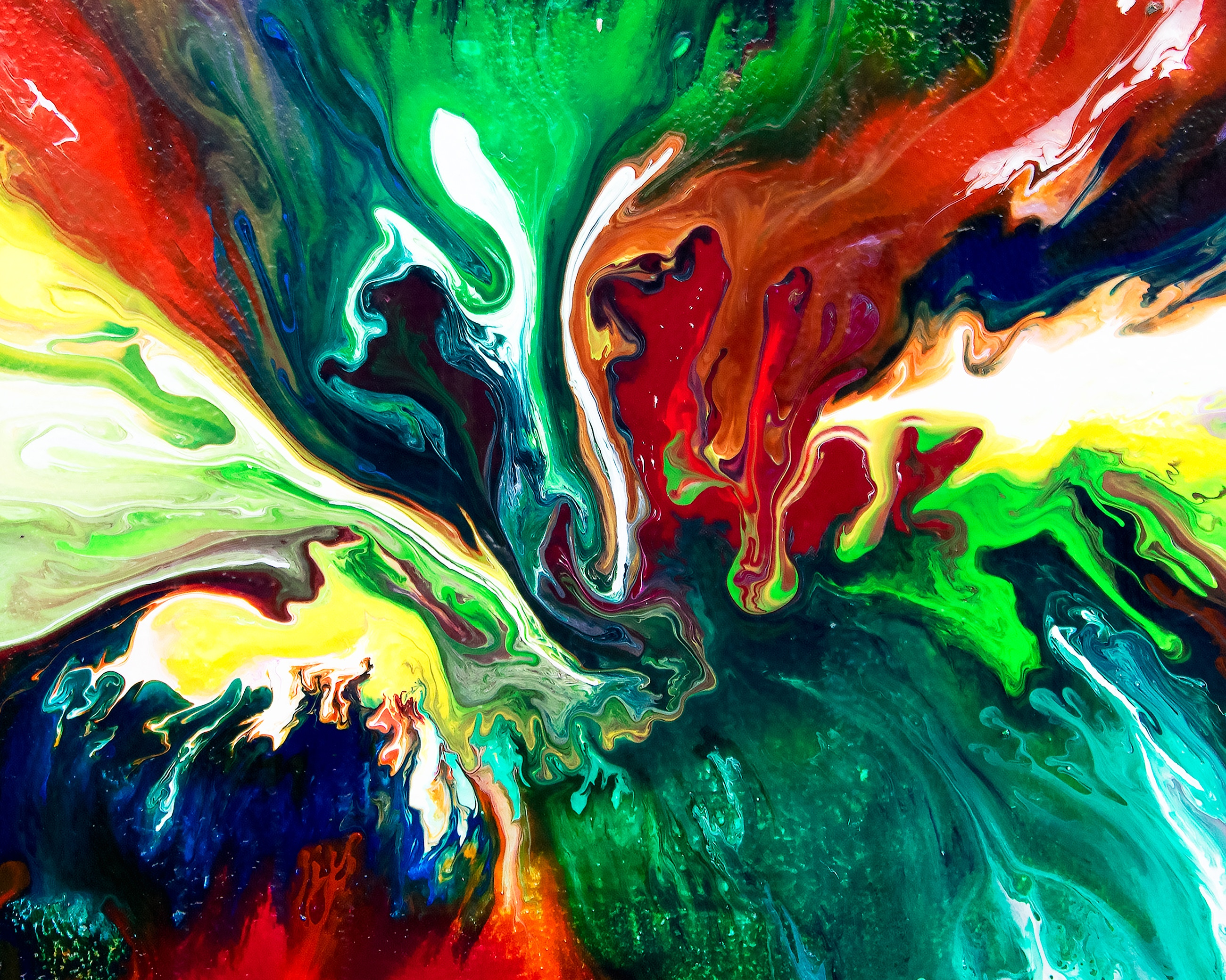 Abstract Artwork Wallpaper posted by Sarah Johnson 2600x2080