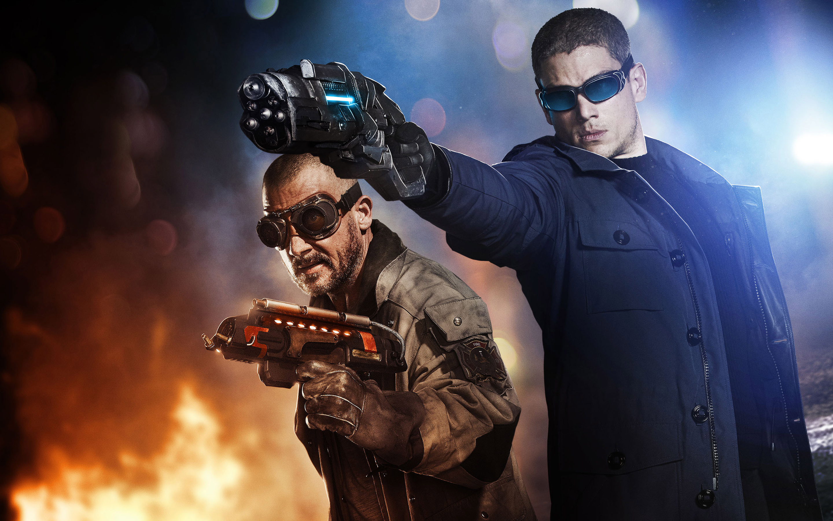 Captain Cold Heat Wave The Flash Wallpapers HD Wallpapers 2880x1800
