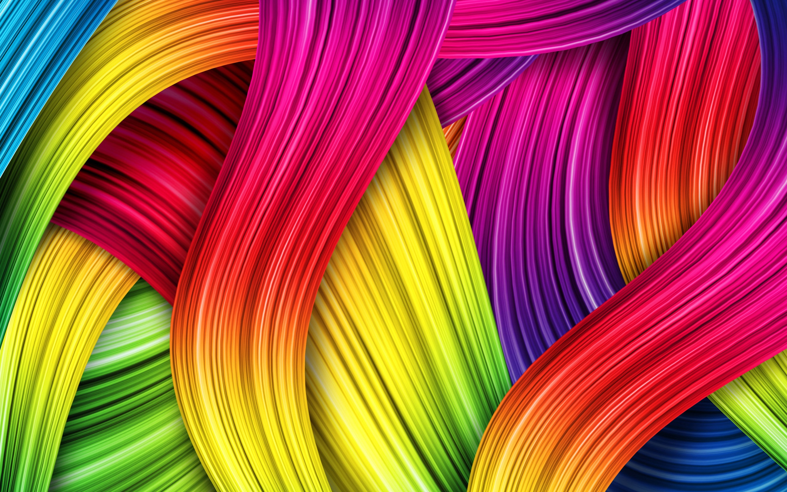 Colorful Lines Abstract Patterns HD Wallpapers 2560x1600