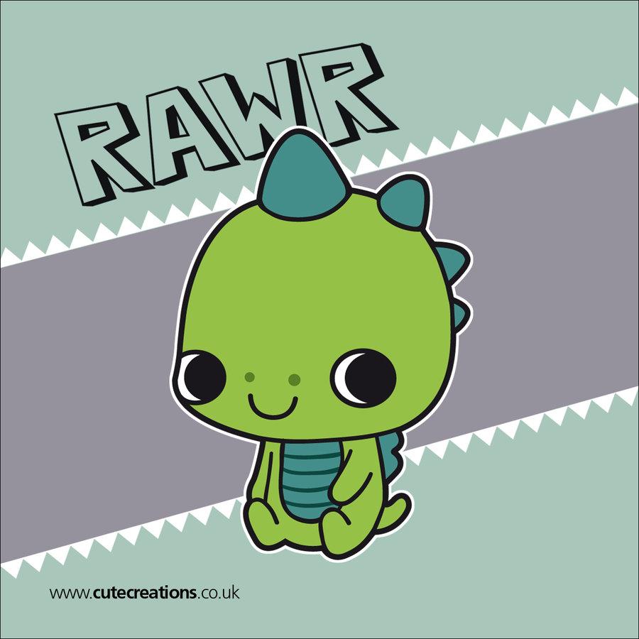 cute dinosaur rawr 900x900