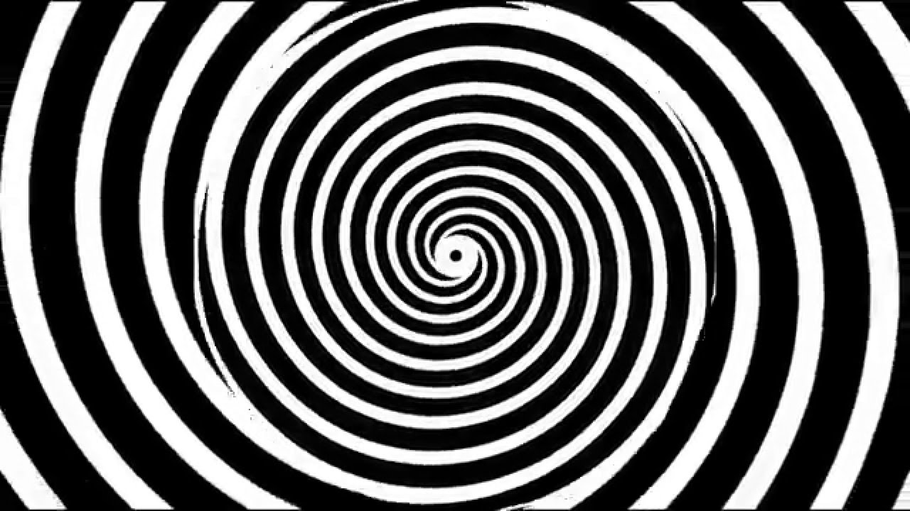 Optical Illusion Hypnotize yourself It works 1280x720