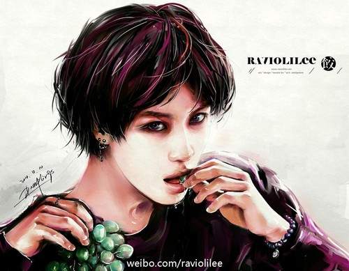 Lee Taemin images ART by RAVIOLILEE HD wallpaper and 500x389