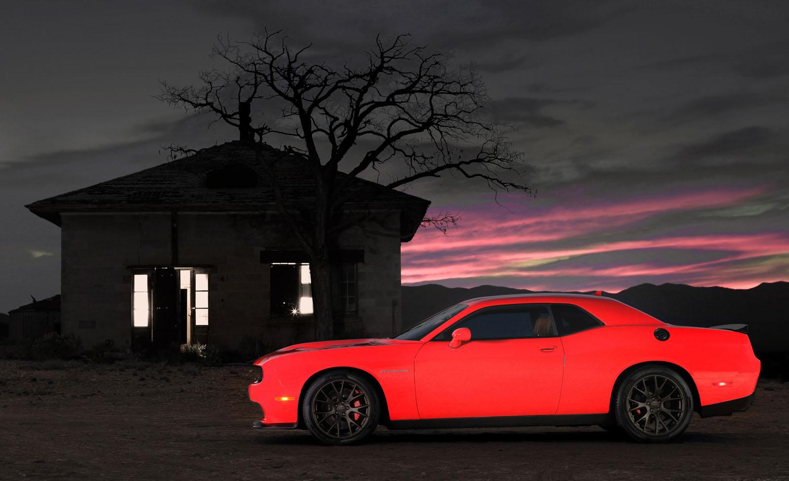 2015 Dodge Challenger SRT8 Hellcat wallpaper 1 Sense The Car 1600x975