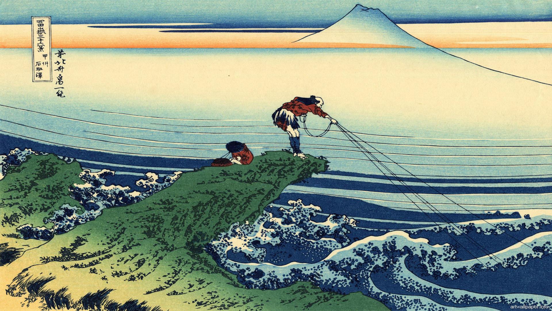 Katsushika Hokusai Wallpaper Art 02 1920x1080