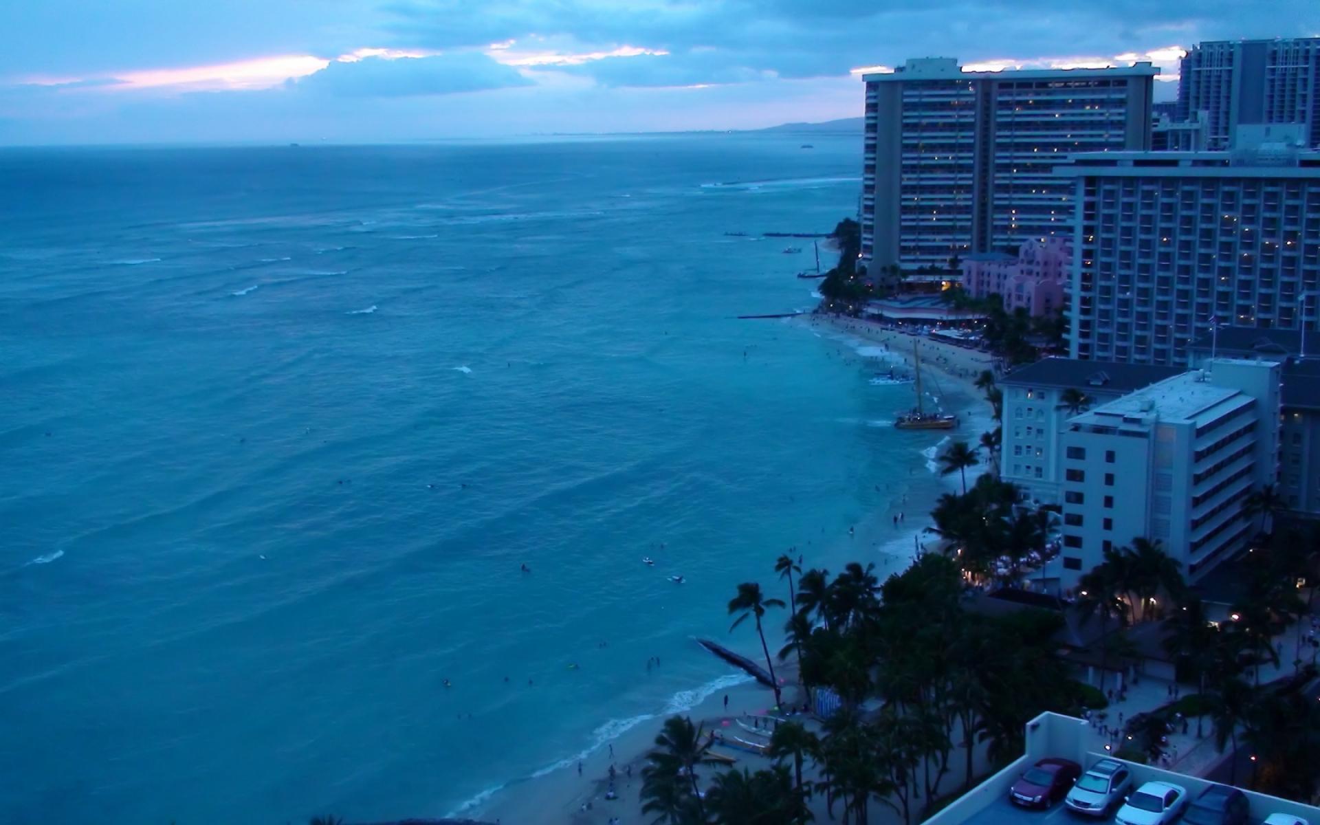 Waikiki Wallpaper: Waikiki Beach Wallpaper HD