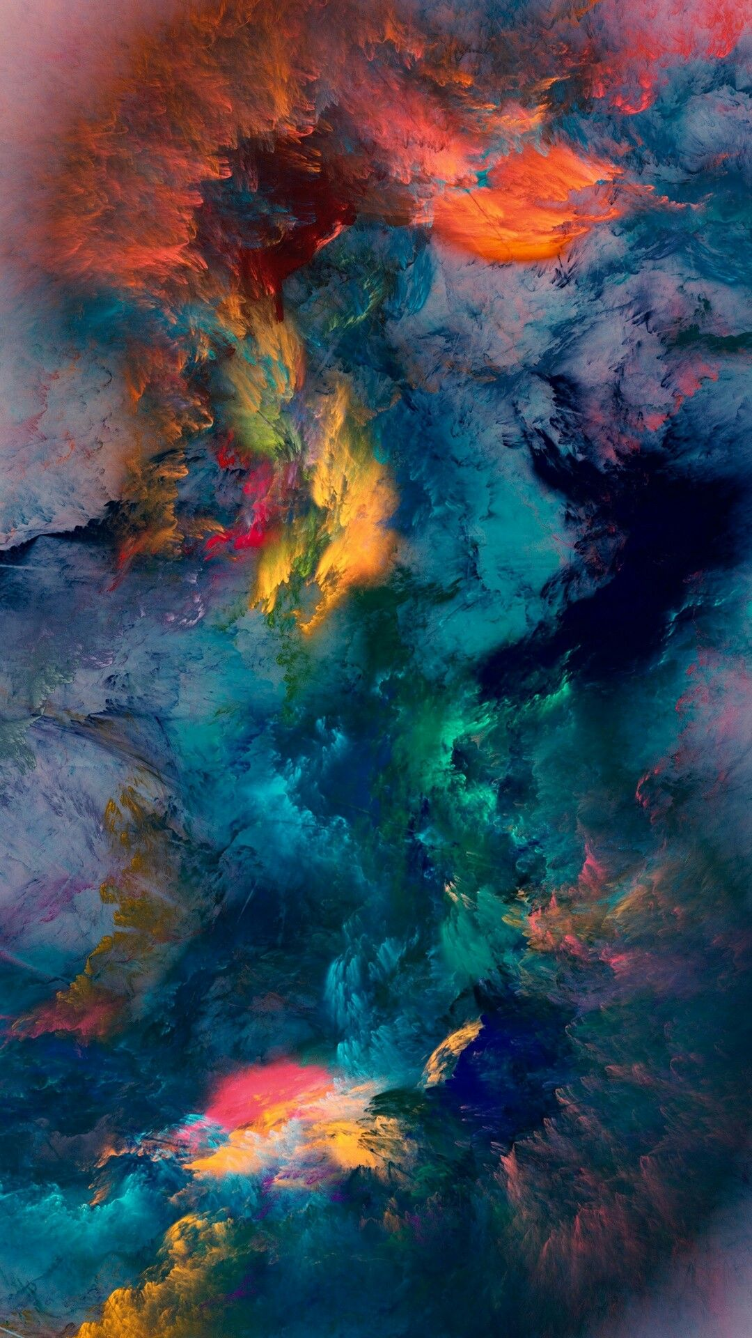 Pin ni Rhea Cosme sa kikay Watercolor art Wallpaper backgrounds 1080x1920