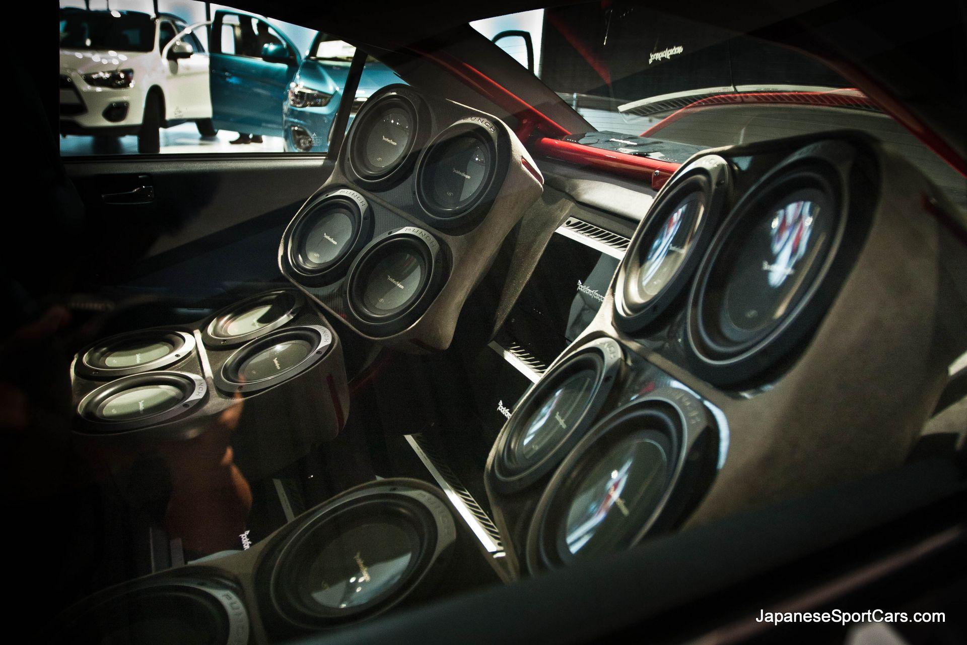 Mitsubishi EVO Rockford Fosgate Rally Edition at 2012 Los Angeles Auto 1920x1280