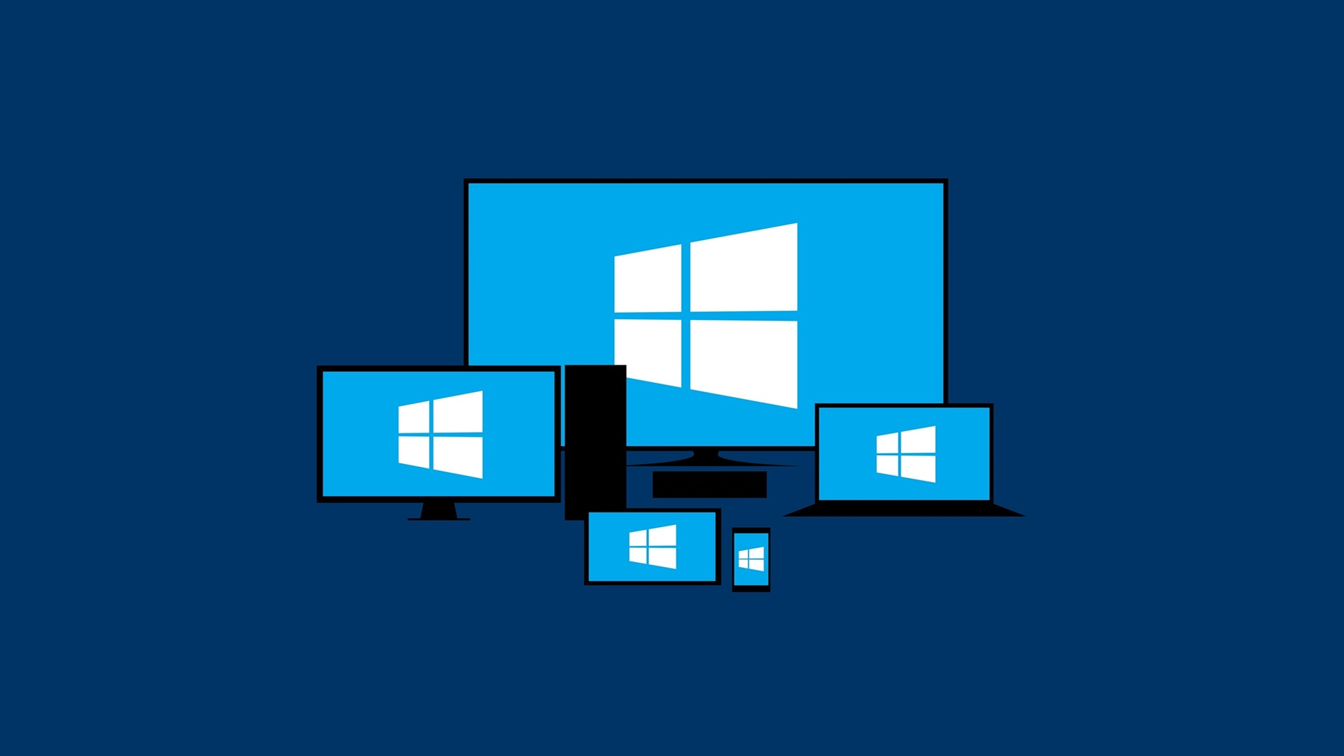 Windows 10 Logo Wallpaper New Windows Logos Windows 1920x1080