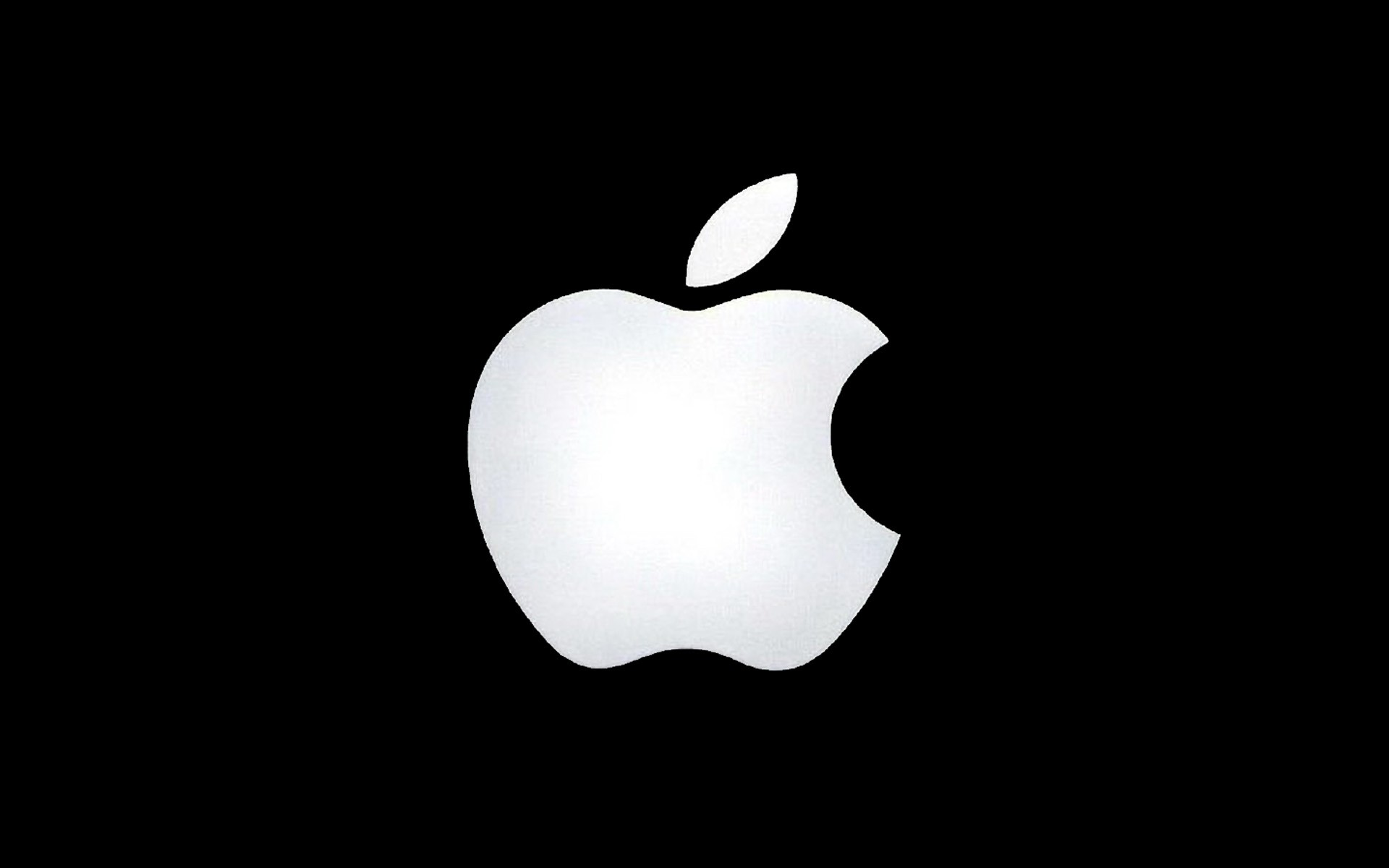 Apple Black and White Wallpaper Downloads 1920x1200