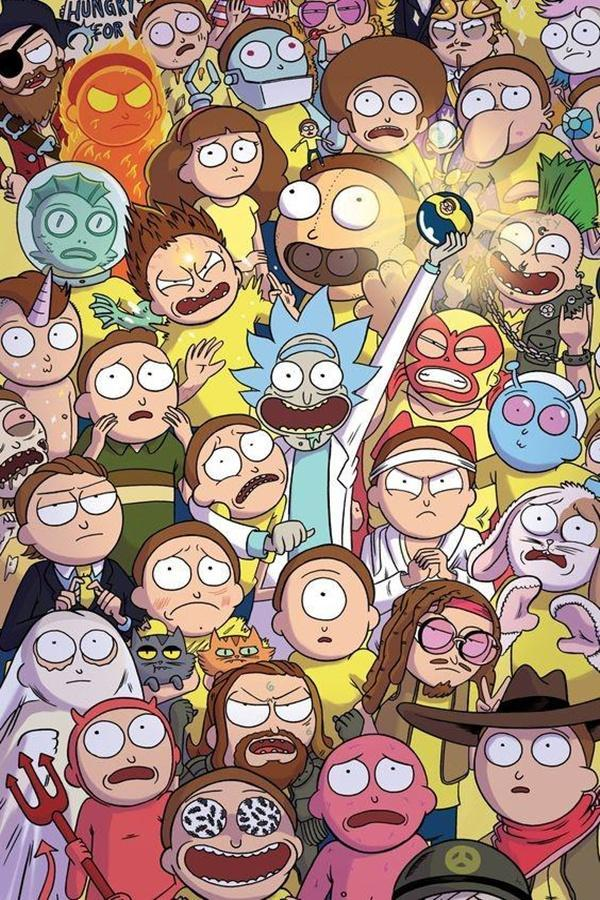 Rick and Morty wallpaper HD 4k for Android   APK Download 600x900