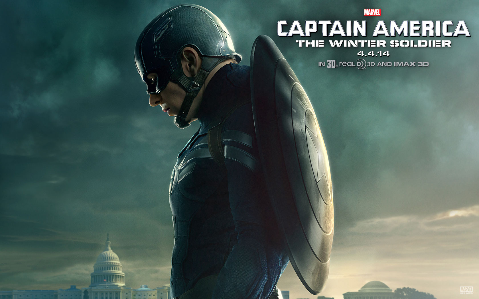Captain America The Winter Soldier HD Wallpapers Facebook Covers 1680x1050