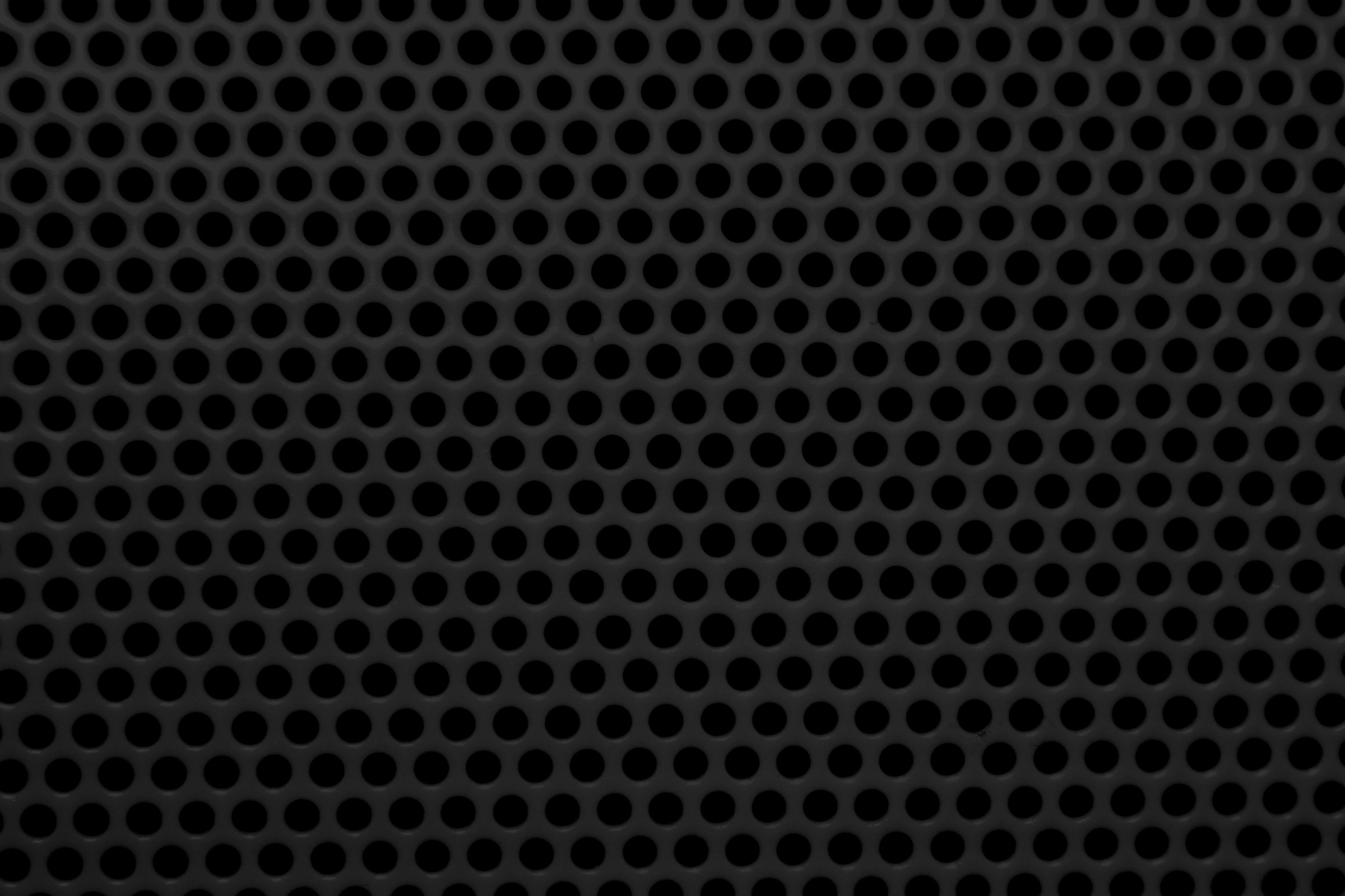 Black Mesh with Round Holes Texture Picture Photograph Photos 2400x1600