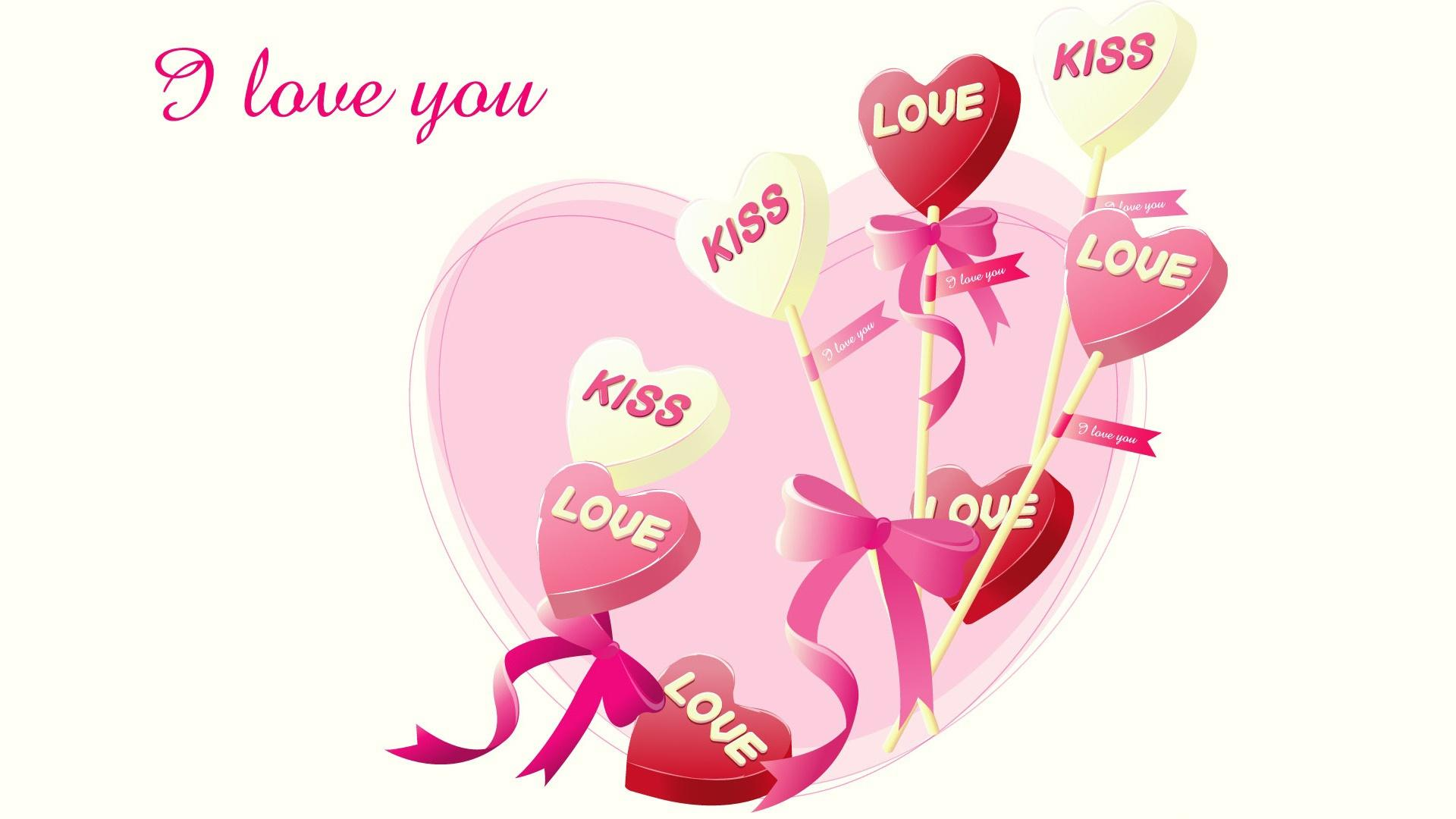 i love you heart hd wallpaper FREE 4U WALLPAPERS 1920x1080