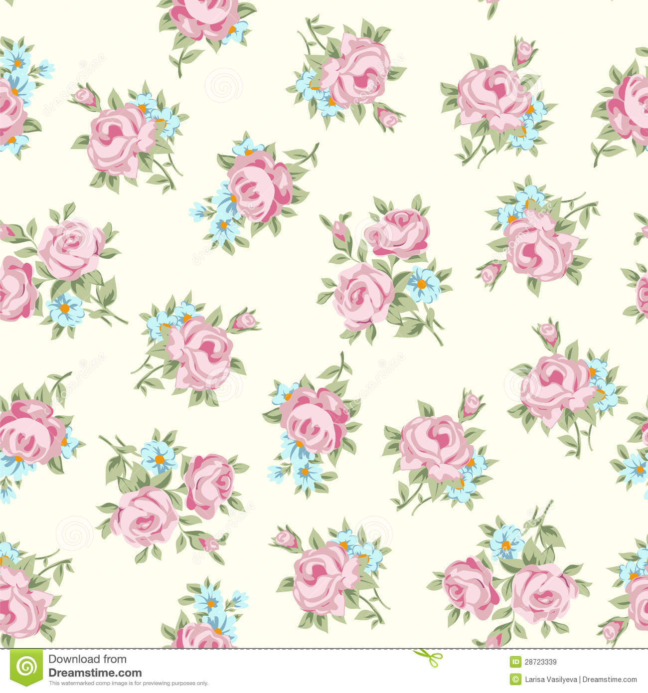 Free wallpaper of shabby chic wallpapersafari for Vintage tapete