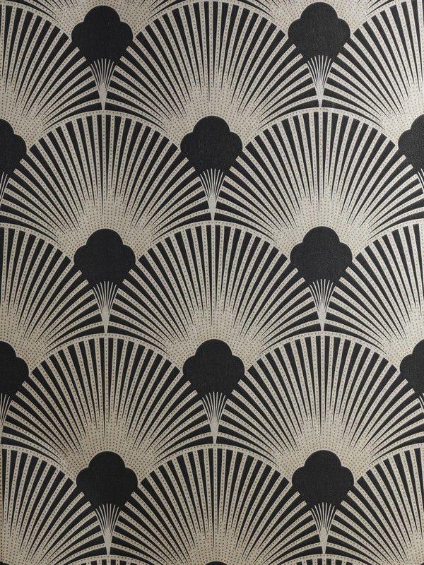 Art Deco Metallic Wallpaper Pattern WS128 Wallpaper   Art Deco 600x800