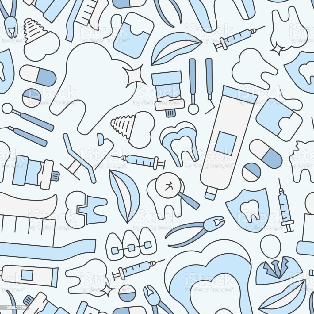Dentist Background 0201 Stock Illustration   Download Image Now 1024x1024