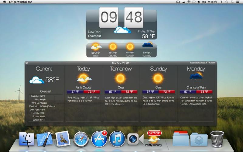 Desktop Clock For Mac Os X