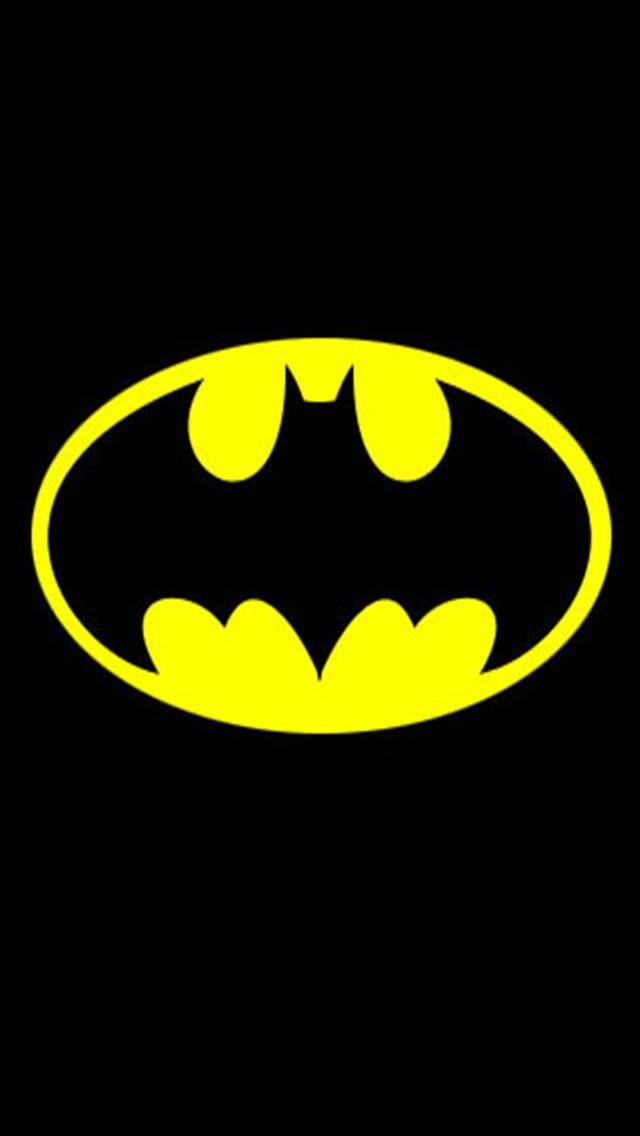 Batman Logo HD iPhone Wallpapers iPhone 5s4s3G Wallpapers 640x1136