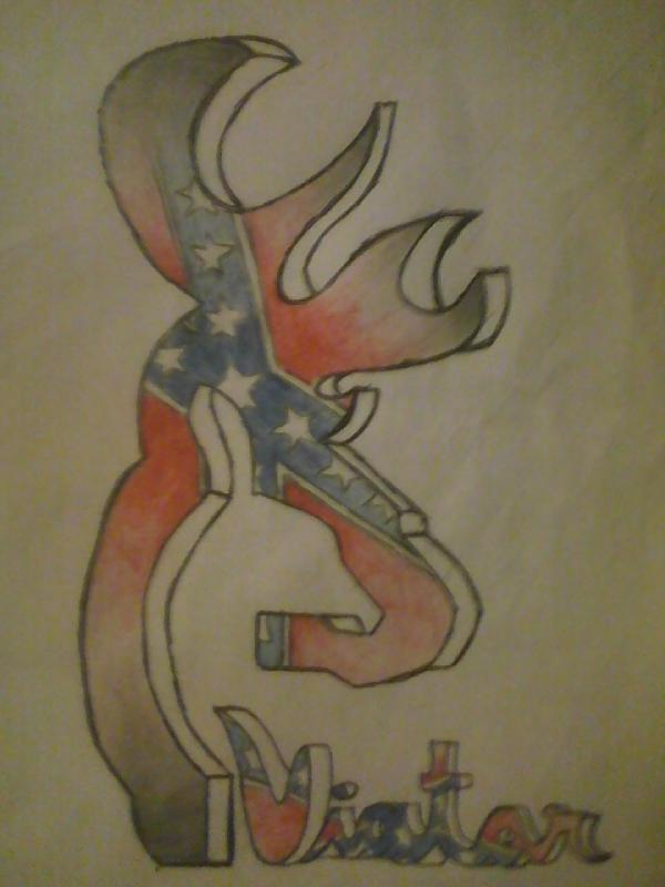 Wallpaper Browning Buck And Doe Phone   browning rebel flag 600x800