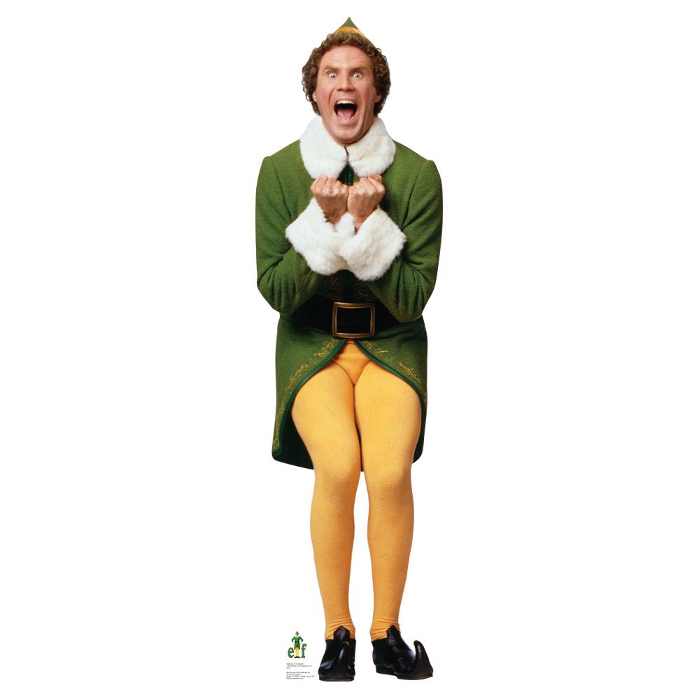 Will Ferrell-Excited Elf Standup   PartySuppliesDelivered