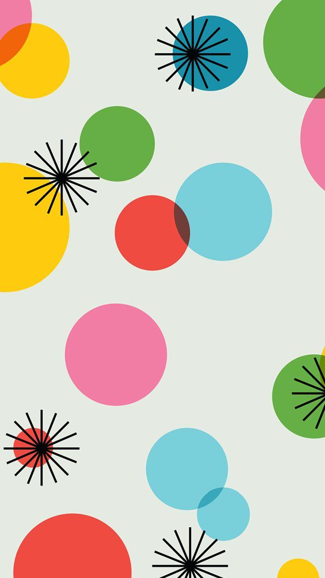 Wallpaper Polkadot Rainbow Clipart download best Wallpaper 640x1136